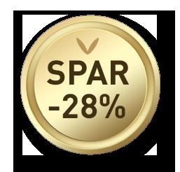 Spar -28%