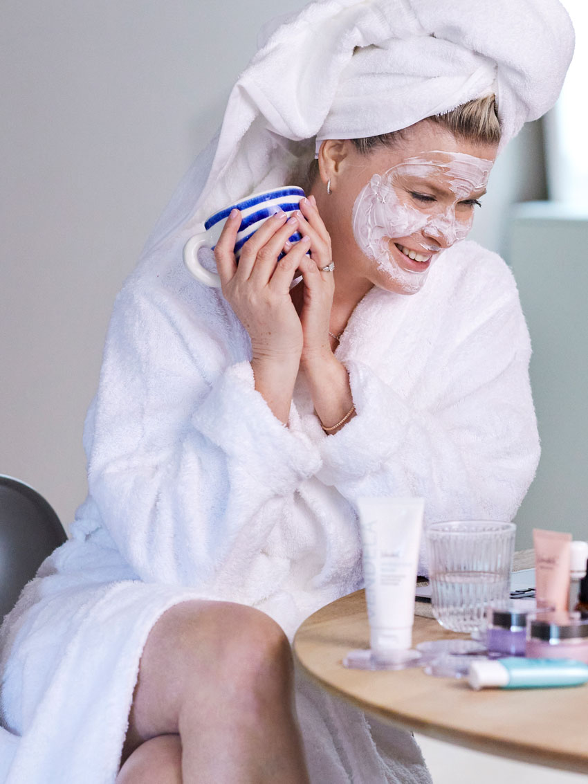 Vendela tipser om bruk av ansiktsmaske på sommeren